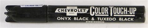 1957 1967 corvette onyx black tuxedo black vintage gm touch up paint stick