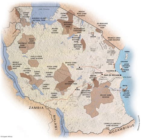 physical map of tanzania tanzania physical map image search results