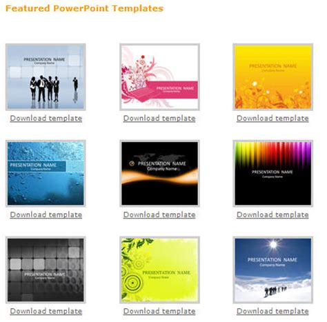 templates for powerpoint free download http