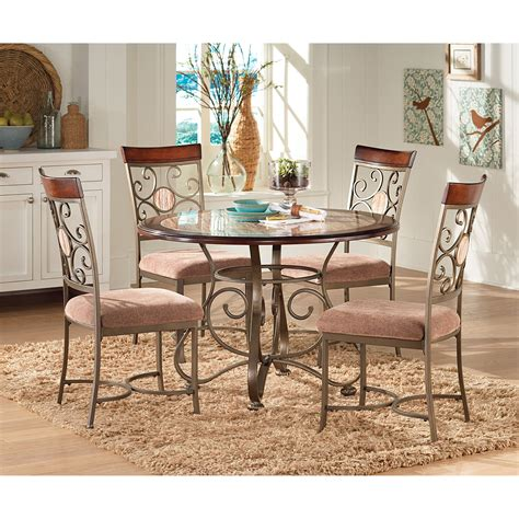 thompson drop table for sale steve silver thompson 5 dining table set cherry