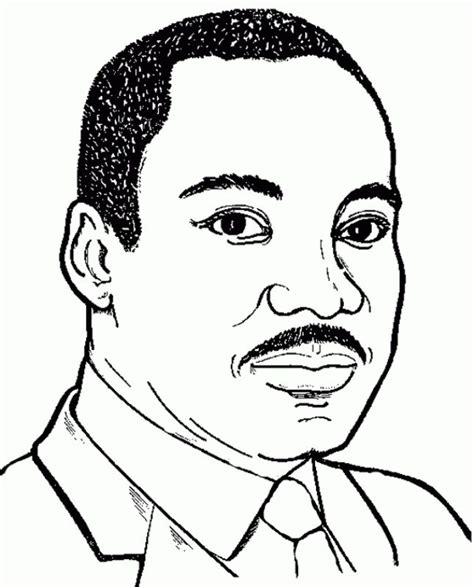 martin luther king jr coloring pages coloring home 52 best famous people coloring pages images on pinterest
