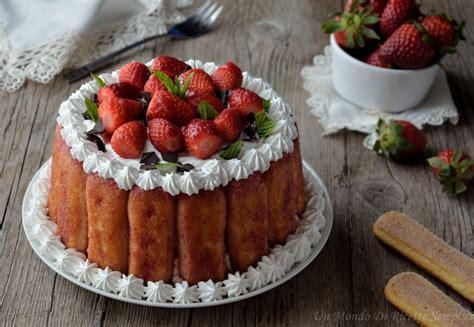 bagna alla fragola tortino alla fragola ricetta dolce senza forno