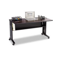 safco 1933 54 reversible top desk bettymills safco 174 mobile computer desk with reversible