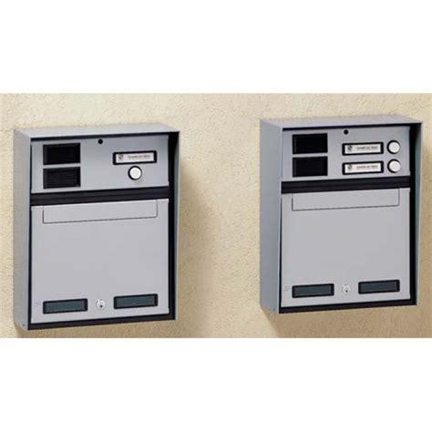 cassetta postale con citofono cassetta postale da incasso 2 canelli