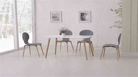 Dining Table White Gray Wooden Dining Table And Chairs