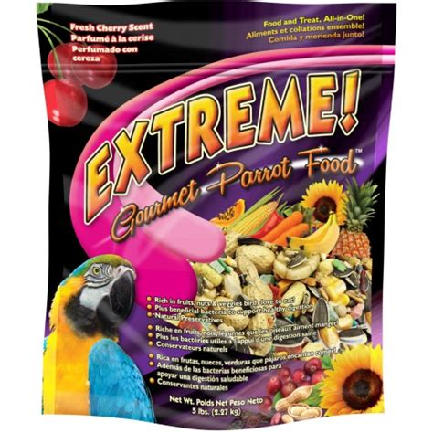 extreme gourmet parrot food brands pet birds