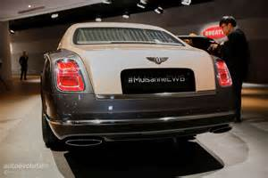 How Bentleys Are Made How Bentley Made The Mulsanne Ewb Wheelbase Look