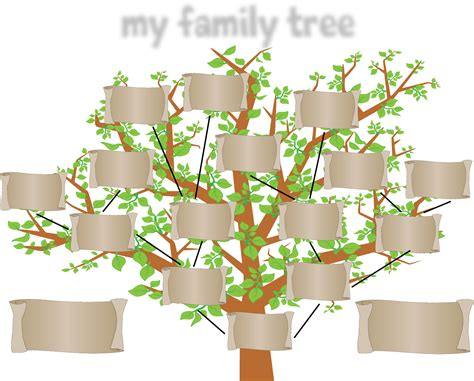 family tree templates with siblings family tree template with siblings for free