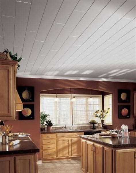 White Painted Wood Ceilings by White Wood Ceiling For The Home