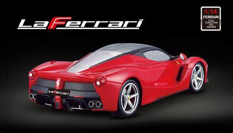 Rc Ferarri Merk Top Speed Scale 124 Licensed 1 14th Scale Laferrari Ready To Run