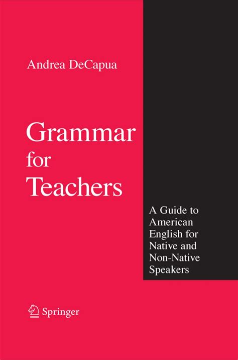 a speaker s guidebook text and reference books grammar for teachers a guide to american for