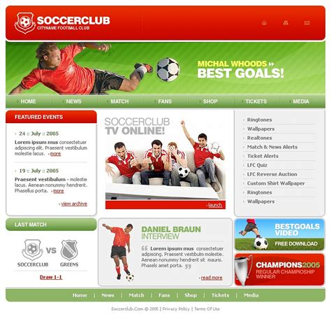 swishmax templates soccer swish template 13209