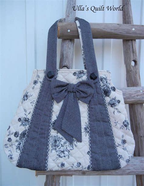 pattern quilt bag ulla s quilt world rose bags quilt pattern tutorial