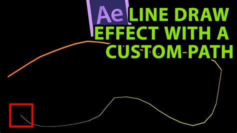 tutorial after effects path after effects tutorial line draw effect with a custom