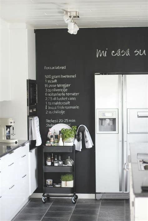 Chalk Wall Kitchen by 17 Best Ideas About Kitchen Chalkboard Walls On
