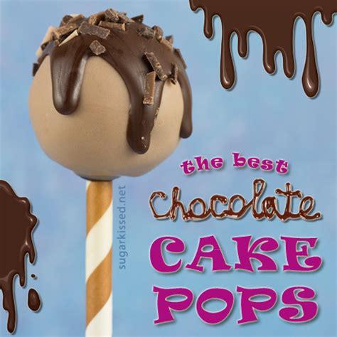 best cake pops the best chocolate cake pops