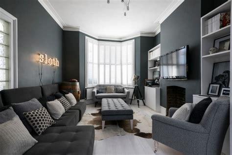 graue wohnzimmermöbel zimmer einrichten mit grauen m 246 beln warum und wie denn