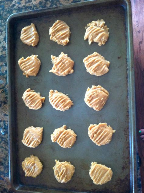 Gunting Scoop gunting 3 ingredient peanut butter cookies