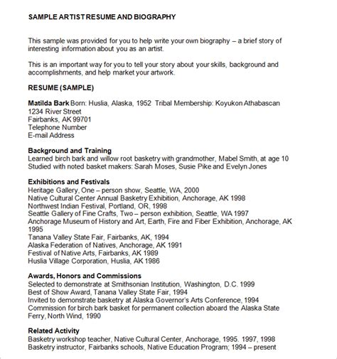 funeral biography template 46 sle biography templates free word doc exles