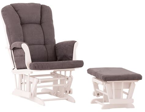 White Nursery Glider Beach Style Rocking Chairs Glider Rocking Chairs For Nursery