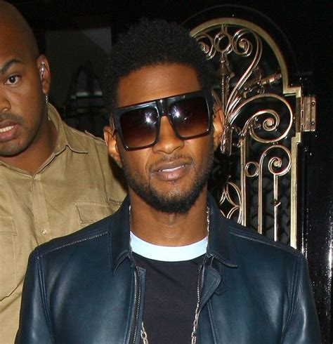 usher n usher leaves scott s in london zimbio