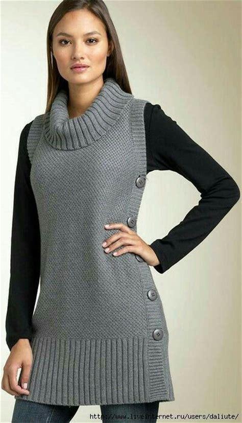 chalecos a dos agujas para mujer 17 mejores ideas sobre chalecos de lana mujer en pinterest