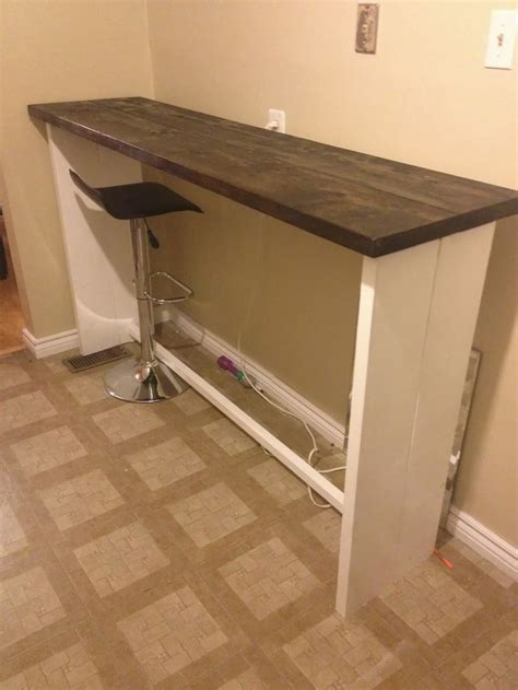 how to build a kitchen bar top 25 best ideas about bar tables on pinterest bar height