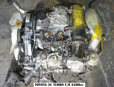 Toyota 1n Turbo Diesel Engine Price Toyota 3c Turbo Diesel Engine In Excellent Condition 2 2l
