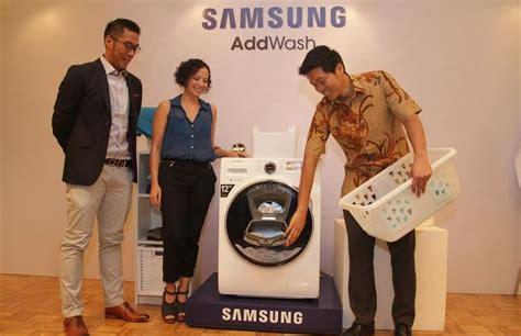 Mesin Cuci Samsung Pintar samsung addwash mesin cuci pintar penuh inovasi jagat