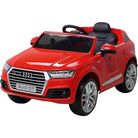 Audi Q7 Rot by Kinder Elektroauto Audi Q7 2016 Suv Lizenziert Rot Mytoys