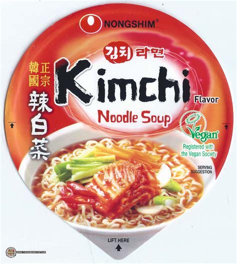 Nongshim Kimchi 2098 nongshim kimchi flavor noodle soup the ramen rater