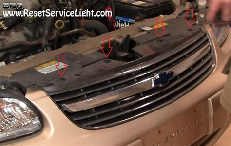 how to reset change light on 2002 chevy silverado service manual how to change the front grille on chevy