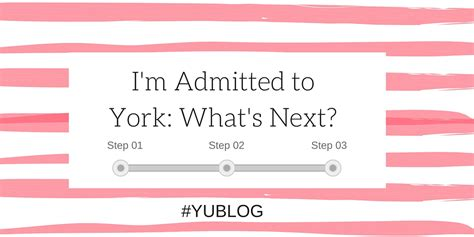 Confirmation Letter Yorku yublog student and admissions at york