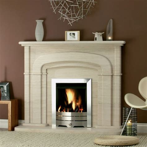 The Fireplaces by Bolton Limestone Fireplace From Directfireplaces