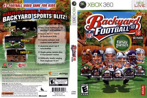 backyard football xbox 360 backyard football 10 xbox 360 outdoor furniture design