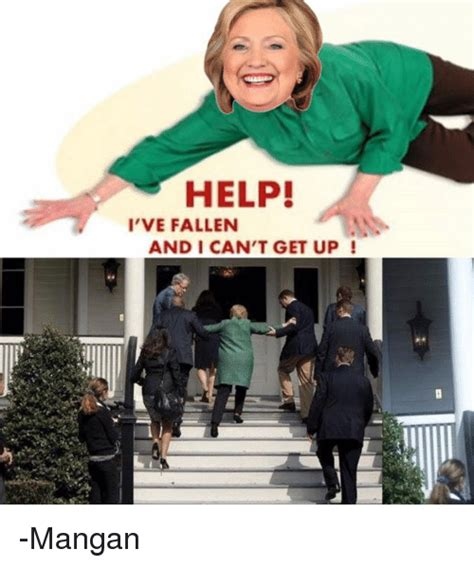 Help I Ve Fallen And I Cant Get Up Meme - where s hillary the ebay community