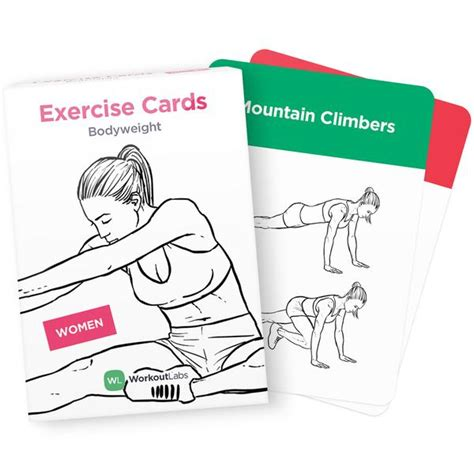printable exercise flash cards exercise cards by workoutlabs work out anywhere
