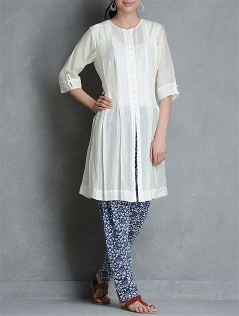 pattern of kalidar kurta churidar printed and buttons on pinterest