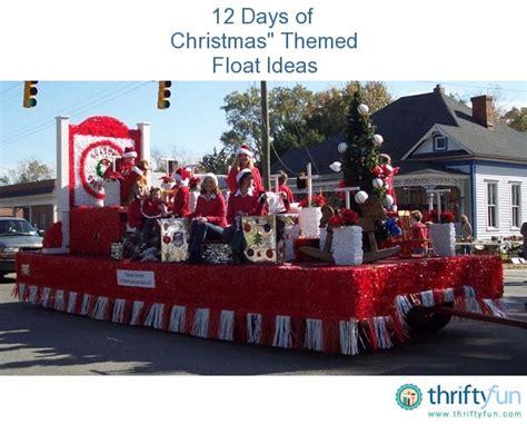 12 days of theme float fancy jpg