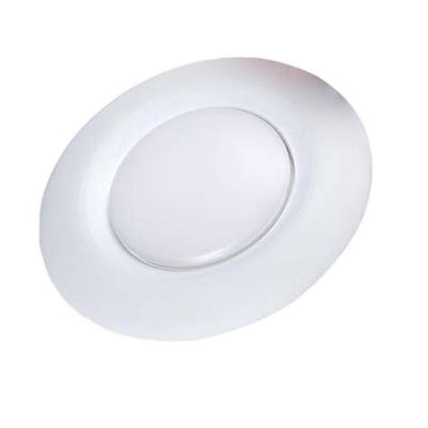 6 led disk light commercial electric 6 in warm white recessed led can disk