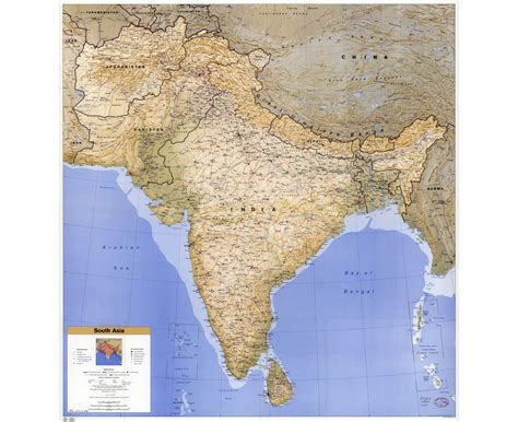 map of south asia maps of south asia south asia maps collection of