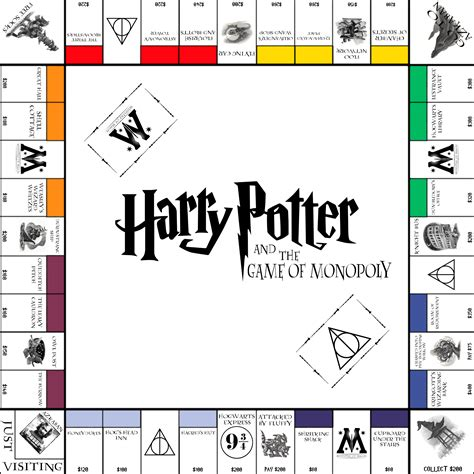 printable monopoly directions harry potter monopoly by funkblast harry potter