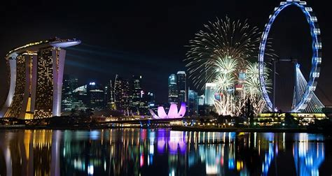 new year celebration in singapore 2015 a glimpse of 2018 nye fireworks in singapore