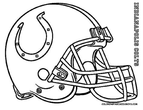 Indianapolis Colts Coloring Page | indianapolis colts coloring page coloring home