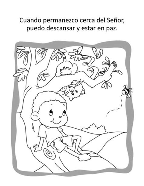 Salmo 91 – Cuaderno para Colorear | iCharacter en Español