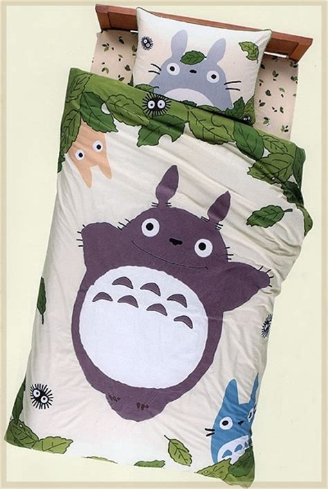 my neighbor totoro bed i must own this my neighbor totoro bed sheet set studio