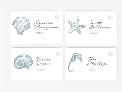 spoke card template wedding place card template editable word