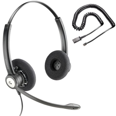 Headset Voip ip go 100 voip voip headsets plantronics entera duo hw121n a