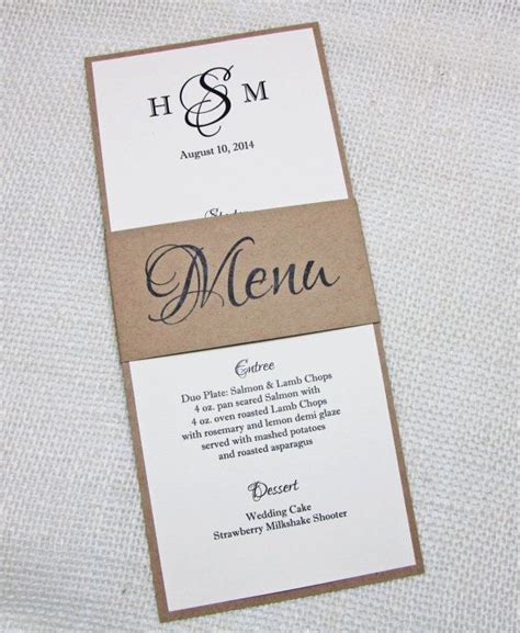 easy elegant dinner menus elegant rustic wedding menu simple rustic wedding