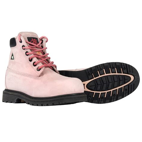 pink betsy xtreme metal free 6 work boot moxie trades